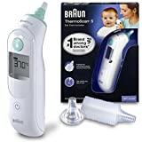 Termômetro infravermelho Braun IRT6020 ThermoScan 5, branco