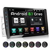 Auto-rádio XOMAX XM-2VA1001 com Android 8.1 I Quad Core, 2 GB de RAM, 16 GB de ROM I ...