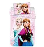 JERRY FABRICS - Jogo de cama Disney Frozen, algodão, ...