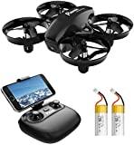 Potensic Mini Drone com câmera de controle remoto Quadcopter bateria WiFi ...