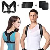 Ombros de postura para homens e mulheres, bandas de postura e ...