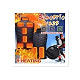 Colete aquecido elétrico Runxinqing Colete leve de inverno Colete leve 9 ...