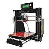 Impressora acrílica 3D Geeetech Prusa I3 Pro B com kit faça você mesmo desmontado