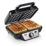 Ferro para waffles Tristar WF-2195, aço inoxidável, preto