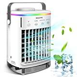 Condicionador de ar portátil, refrigerador de ar Hisome 5 em 1 refrigerador de ar, ...