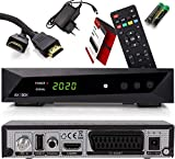 Decodificador de satélite Opticum HD e reprodutor multimídia para SBOX TV - decodificador de TV ...