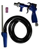 Asturo 3147 500 PS-2 Kit de pistola de jato de areia semi-profissional, azul / prata