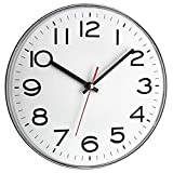 Cor do relógio de parede TFA 60.3017: branco, plástico
