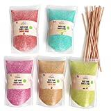 Greendoso - Açúcar Colorido para Algodão Doce 5X160 Gr (Sabores e Cores ...