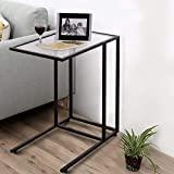 COSTWAY mesa de centro mesa de apoio de sofá para sala de estar em ...