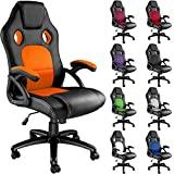 Poltrona TecTake Racer Classe Cadeira de escritório executiva (verde)