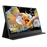 Monitor portátil de 15,8 polegadas com tela IPS Full HD 1920 × 1080 e ...