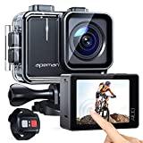 APEMAN A100 Action Cam - câmera subaquática com 4K / 50 fps, UHD, WiFi, 20 MP, ...