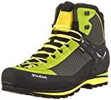 Salewa MS Crow Gore-TEX, tênis masculino para caminhada e caminhada, verde ...
