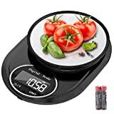 Balanças de cozinha, Hoobabuy 5 kg Smart Digital com função de tara, ...