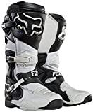 Botas de motocross Fox Comp 8 brancas Gr.42.5