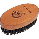 Escova de barba com sete bebedouros feitos de 100% cerdas de javali - escova de barba ...