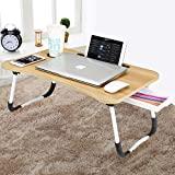 CHARMDI Lap Desk - Mesa de cabeceira portátil para laptop com pernas ...