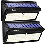 BAXiA 2000LM solar LED para exterior, 100 LED solar para jardim, ...