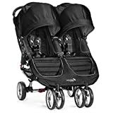 Baby Jogger BJ0131221000 Passeggino City Mini Duplo, Preto / Cinza