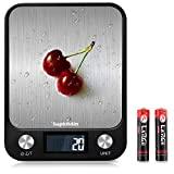 Balança de cozinha digital Supkitdin, 10 kg ...