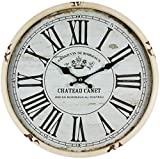 Perla PD Design, relógio de parede, em metal com mostrador em vidro, design ...