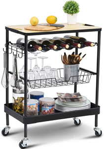 Melhores carrinhos de cozinha 2021: guia de classificação e compra