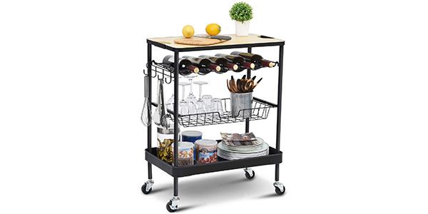melhores carrinhos de cozinha 2021 guia de classificacao e compra