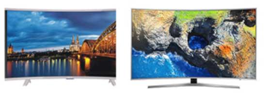 Televisores curvos: o melhor modelo para comprar!