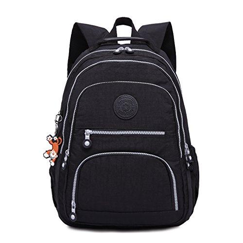 3. Bolsa de ombro com mochila casual feminina Foino - Uma mochila de roupas prática e confortável