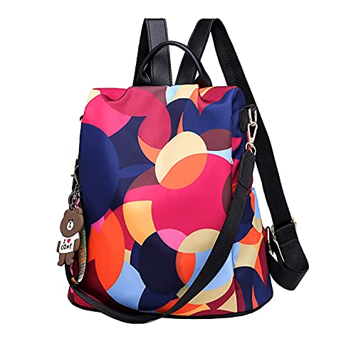 A melhor mochila anti-roubo original: Shepretty Oxford Backpack