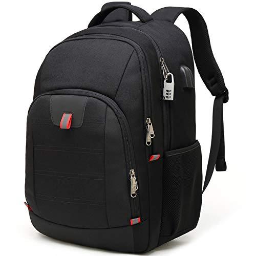 A melhor mochila anti-roubo para viagens: mochilas multifuncionais pretas