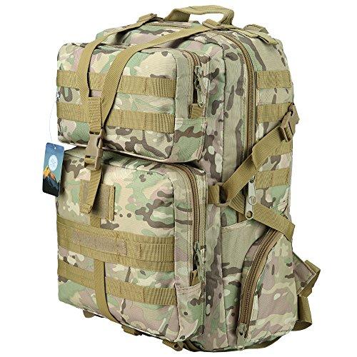 3. Mochila Tática HUKOER 45L - A mochila para os mais difíceis