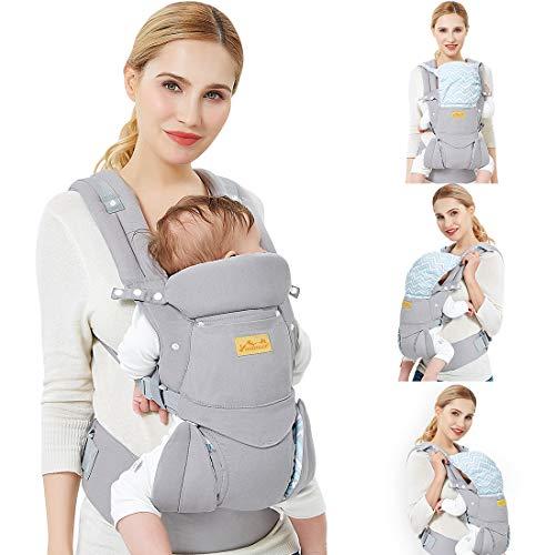 O melhor porta-bebês ergonômico: Viedouce