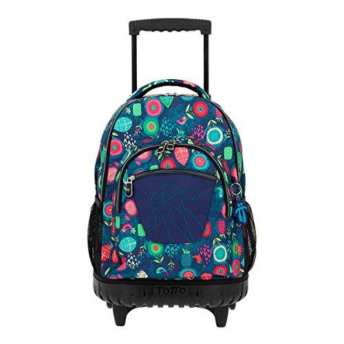 3. Mochila escolar Totto Rolling - A mochila ideal para transportar cargas pesadas