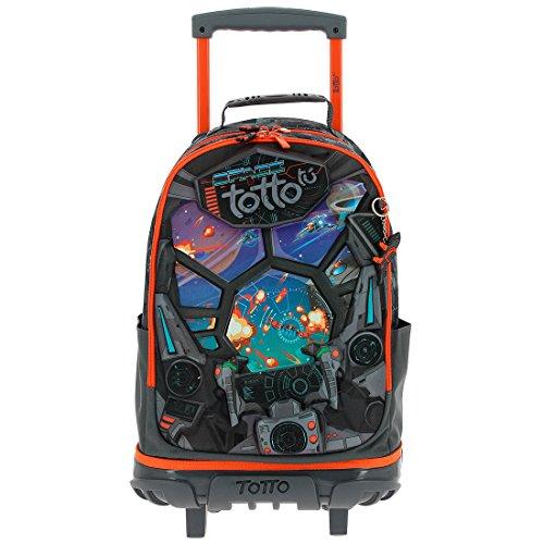 4. Totto MA04ECO002-1710N-1SF Mochila Casual Crayola - Uma mochila leve e divertida