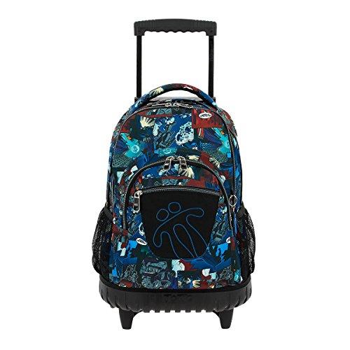2. Mochila Casual Totto MA03ECO006-1710P-2ER Lines - A mochila para a escola