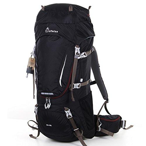 3. Mochila de trekking WolfWise 65L: a mochila para curtir a natureza