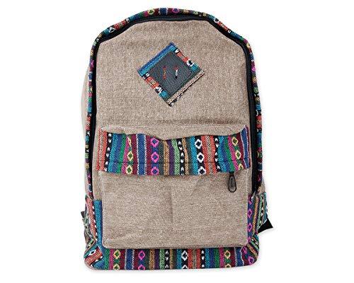 5. DSstyles Vintage Casual Backpack - As mochilas para meninos hippie