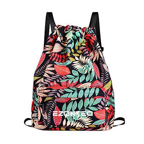 A melhor mochila de tecido para mulher: Mochila de Tecido Red Leaves