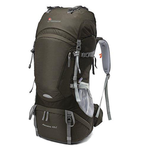 2. Mountaintop Adventure 65L - Grande capacidade e grande conforto