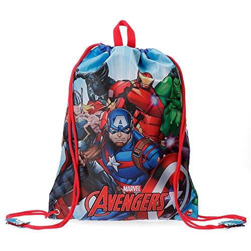 A melhor mochila de pano para crianças: The Avengers Team