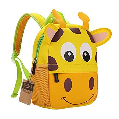 A melhor mochila infantil feita de animais: TEAMEN Giraffe