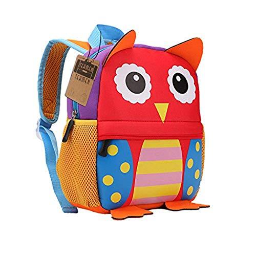 A melhor mochila infantil para o jardim de infância: TEAMEN owl