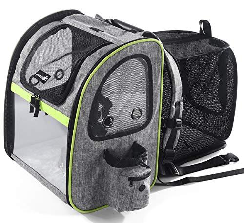 A melhor mochila para cães grandes: Pecute Transportin