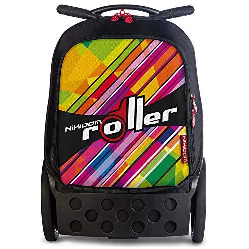 4. Mochila Nikidom Kaleido Trolley Roller - estabilidade e resistência