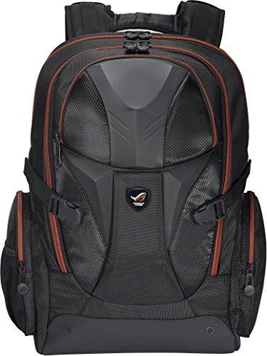 1. ASUS ROG Nomad Black Rubber - uma mochila para guardar o seu portátil