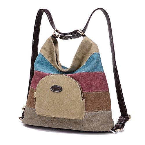 1. Bolsa de viagem feminina NIZIKE - a mochila da garota hippie