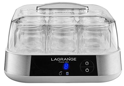 lagrange 459002 Fabricante de iogurte / linha de pincel, 18 W, INOX